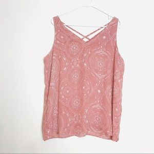 Maurice's Paisley Sleeveless Strappy Top